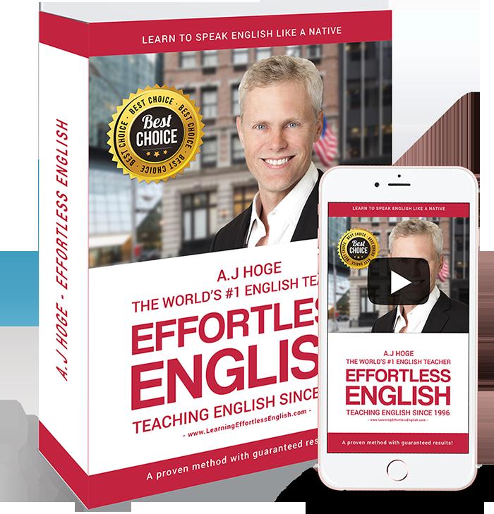 Effortless English và tác giả A. J. Hoge